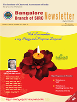 Cover of November 2012 Newsletter