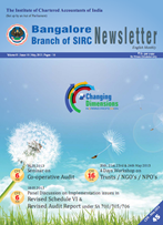 Cover of May 2013 Newsletter