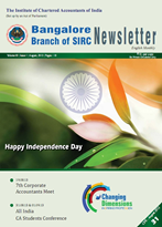 Cover of August 2013 Newsletter