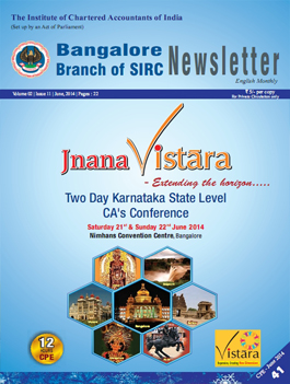 Cover of Jnana Vistara -  Two Day Karnataka State Level CA's Conference