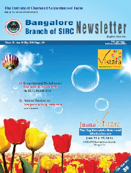 Cover of May 2014 Newsletter