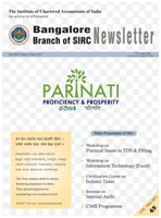 Cover of May 2012 Newsletter