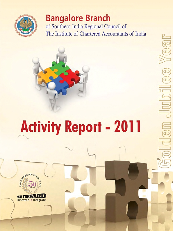 Cover of 2011 Activity Report
