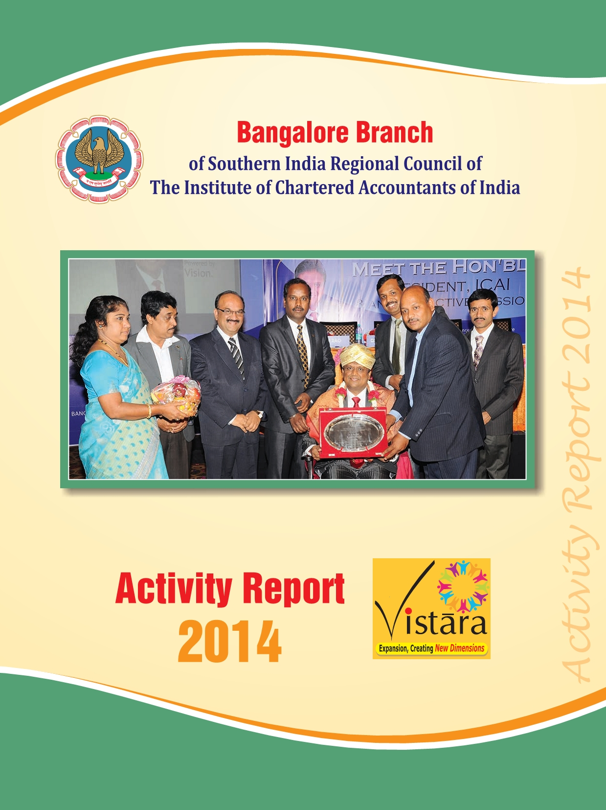 Cover of 2014 Activity Report